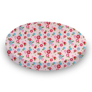 Read Reviews Mini Floral Fitted Crib Sheet By Sheetworld