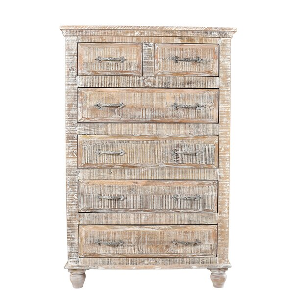 Pagano Tall 6 Drawer Accent Chest by Loon Peak