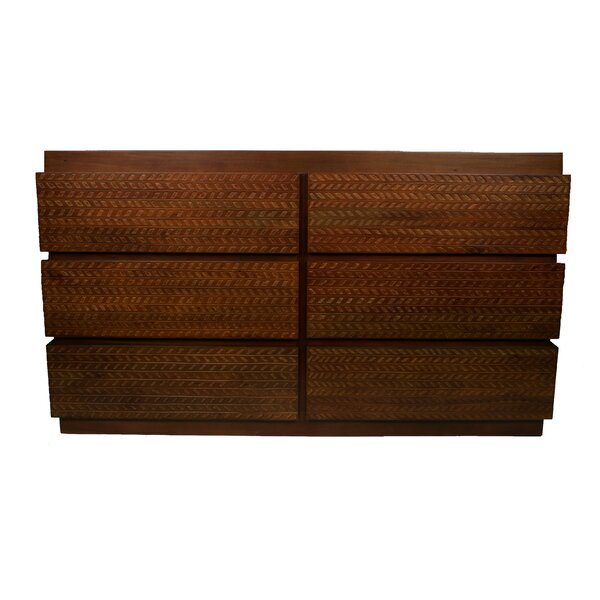 Frannie 6 Drawer Double Dresser by Foundry Select