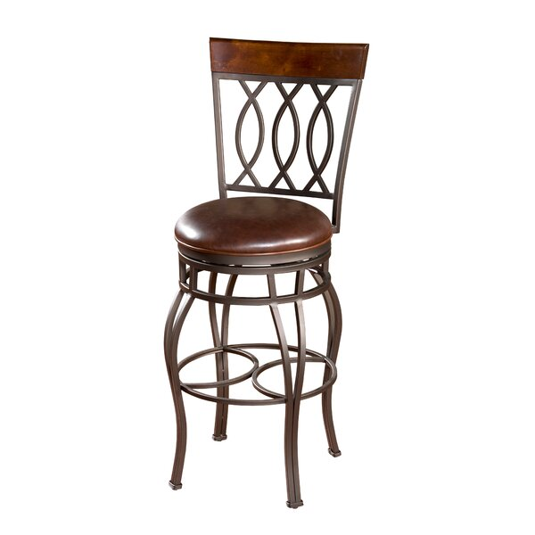 Gilman 30 Swivel Bar Stool by Darby Home Co