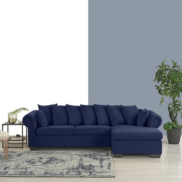 Weldy Right Hand Facing Modern Sectional by Winston Porter