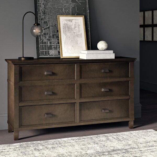 Millington 6 Drawer Double Dresser by Greyleigh