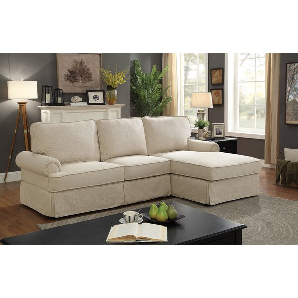 Rothman Symmetrical Sectional by Charlton Home