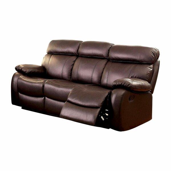 Garbutt Top Grain Recliner Sofa by Red Barrel Studio Red Barrel Studio