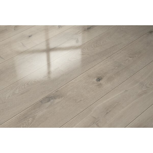 7 x 51 x 9mm Oak Laminate Flooring in Gray by ELESGO Floor USA