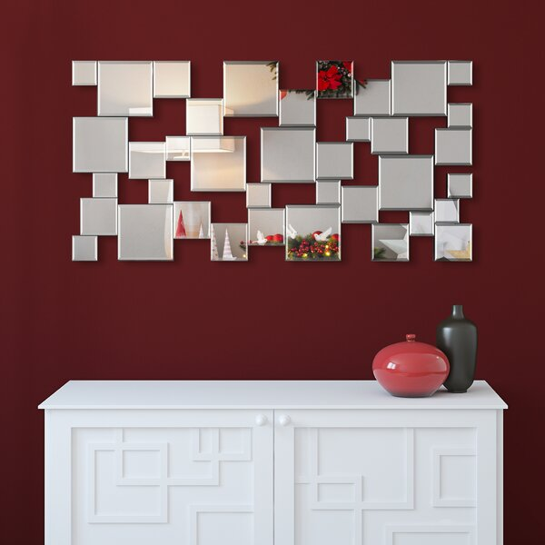 Funke Elegant Cluster Wall Mirror
