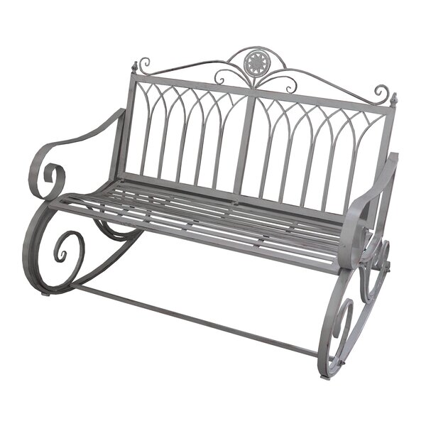 Curtiss Ornate Rocking Bench by Astoria Grand