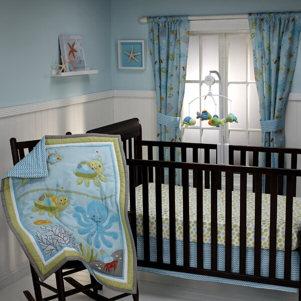Kinnard 3 Piece Crib Bedding Set by Zoomie Kids