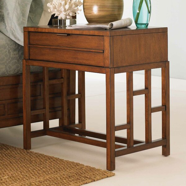 Ocean Club Kaloa 1 Drawer Nightstand by Tommy Bahama Home Tommy Bahama Home