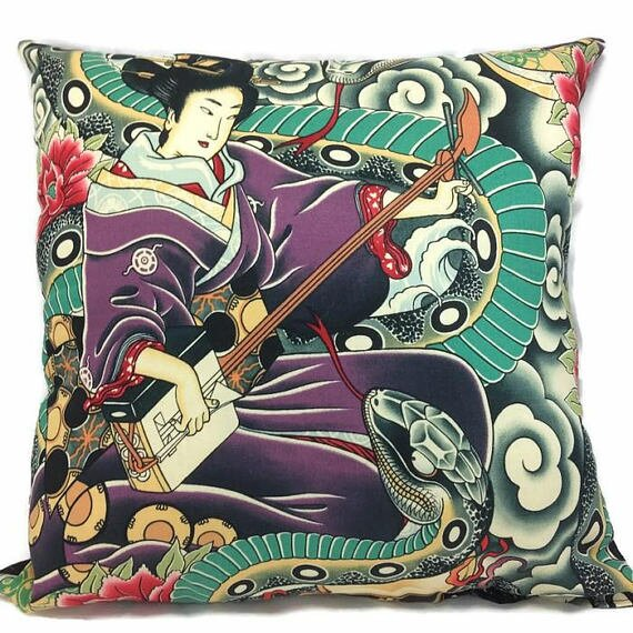 Zen Charmer Throw Pillow by East Urban Home