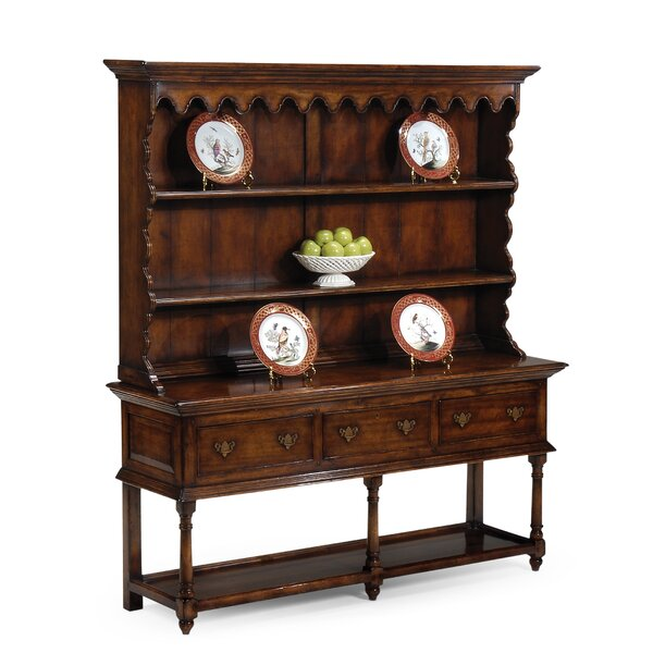 Open Welsh Dresser China Cabinet by Jonathan Charles Fine Furniture