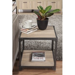 Compare & Buy Lindell Loft End Table By 17 Stories