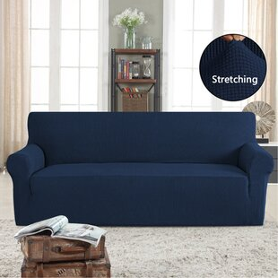 Stretch Box Cushion Sofa Slipcover