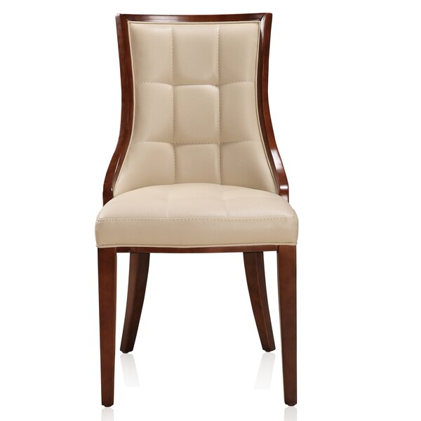 Fien Upholstered Dining Chair (Set of 2) by One Allium Way