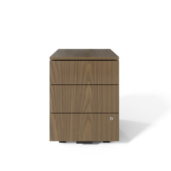 Dalton Pedestal 3-Drawer Vertical Filing Cabinet