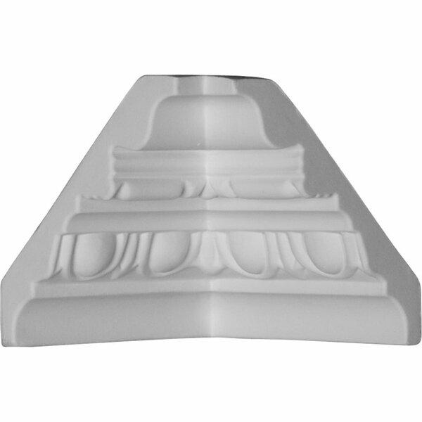 3 5/8H x 3 3/8D Inside Corner for Moulding by Ekena Millwork