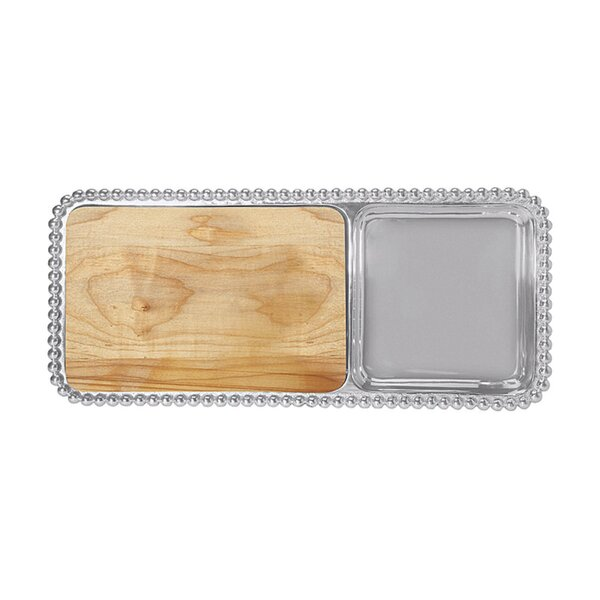 Mariposa String Of Pearls Cheese And Cracker Serving Tray Wayfair