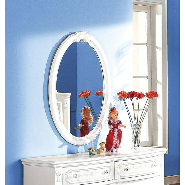 Egbert Oval Dresser Mirror by Harriet Bee