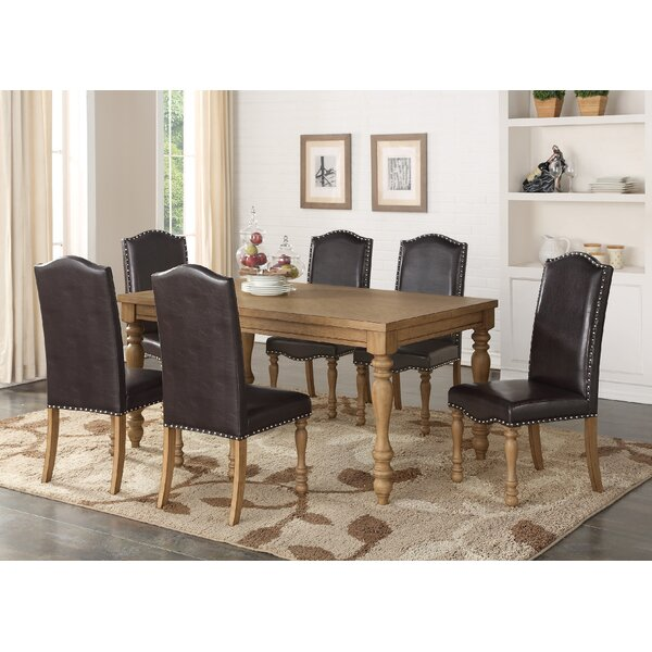 Quon 7 Piece Dining Set by One Allium Way