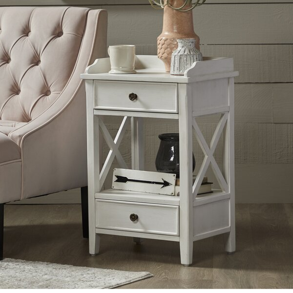 Peniste 2 - Drawer End Table with Storage by Rosecliff Heights Rosecliff Heights