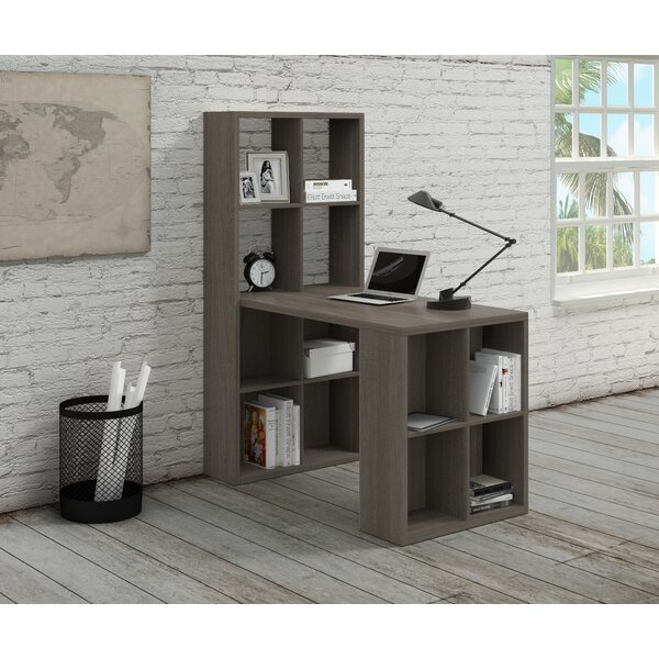 Barling Writing Desk with Hutch by Ebern DesignsBarling Writing Desk with Hutch by Ebern Designs