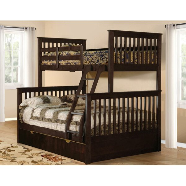 Damarion Twin Over Full Bunk Bed with Drawers by Harriet Bee