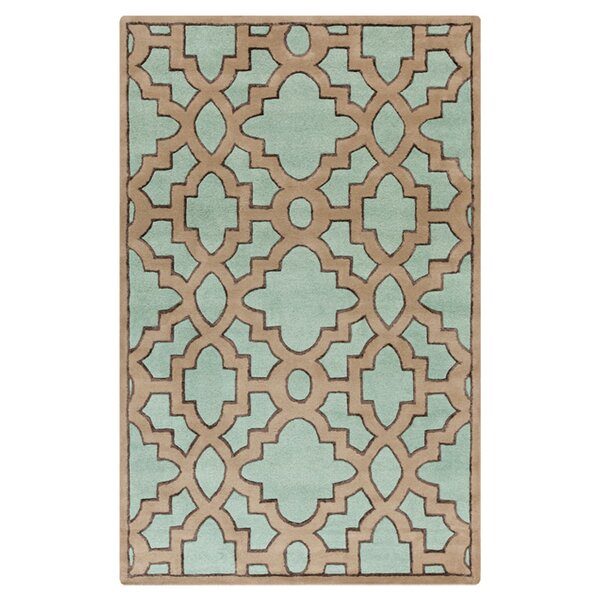 Modern Classics Teal/Light Brown Area Rug by Candice Olson Rugs