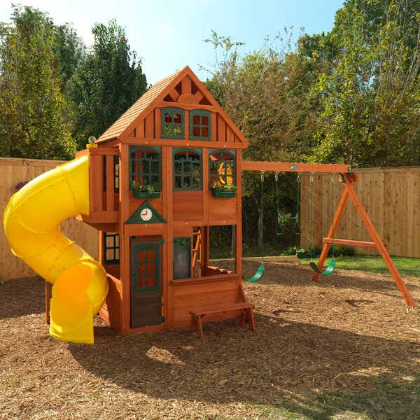 Preston Wooden Swing Set by KidKraft