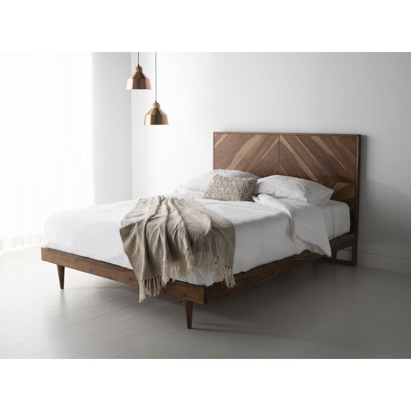 Zareen Herringbone Platform Bed by Union Rustic