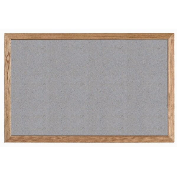 Wall Mounted Bulletin Board by AARCO