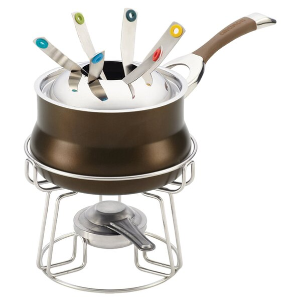 3.25 qt. 11 Piece Iron Fondue Set by Circulon