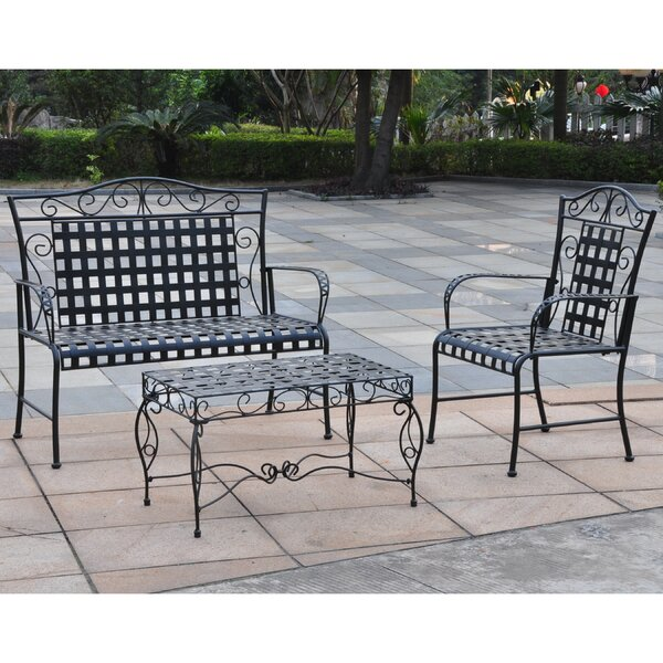 Doric 3 Piece Sofa Set by Darby Home Co