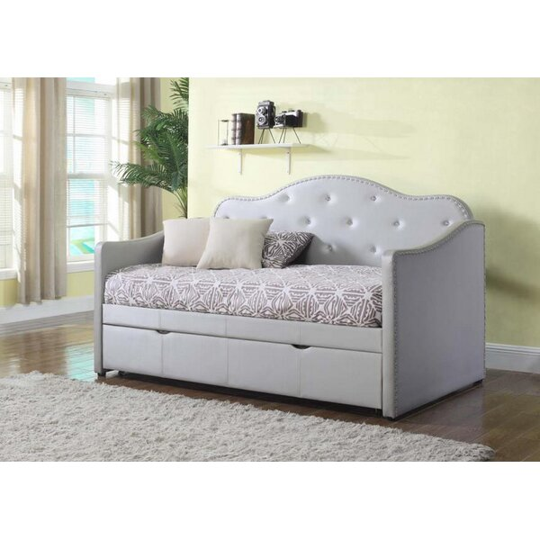 Seale Twin Daybed With Trundle By Harriet Bee
