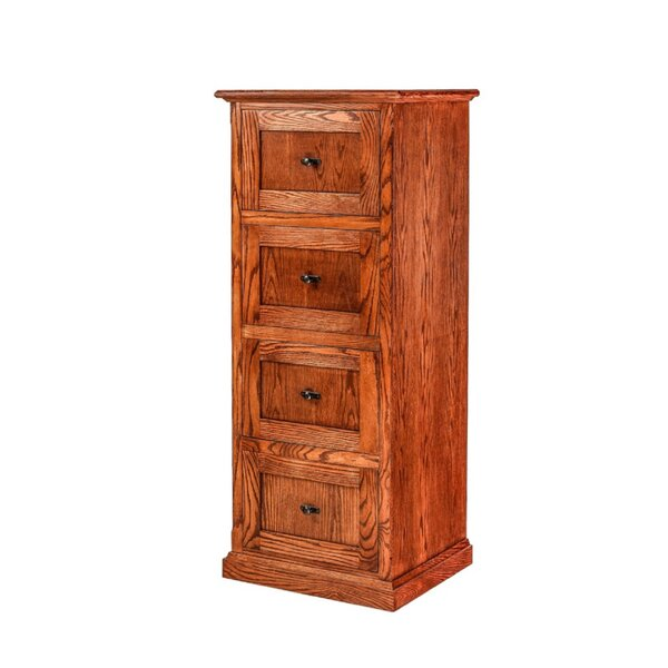 Hutton 4-Drawer Vertical Filing Cabinet