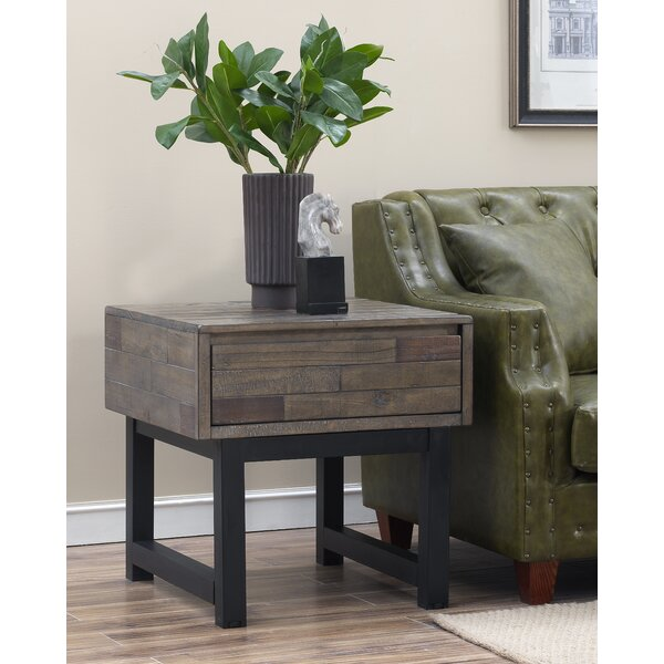 Burnam End Table by Gracie Oaks