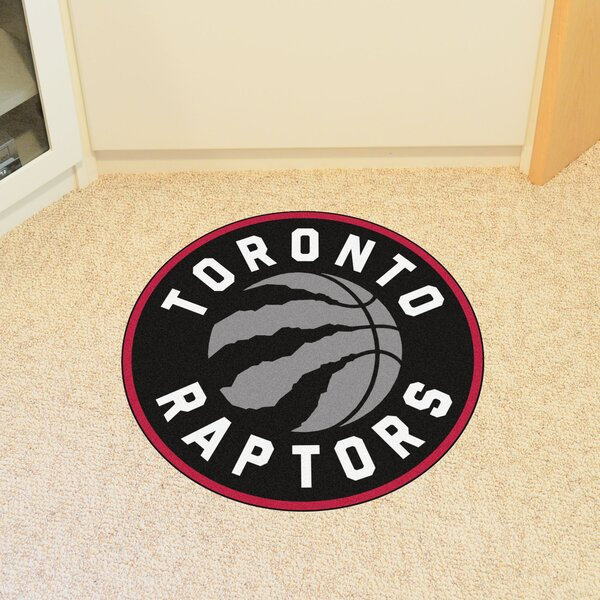 NBA Toronto Raptors Roundel Mat by FANMATS