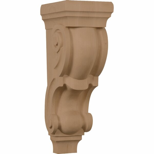 Traditional 18H x 6W x 7 1/2D Pilaster Corbel by Ekena Millwork