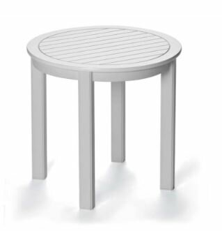 Marine Grade Polymer Tables Aluminum Side Table by Telescope Casual
