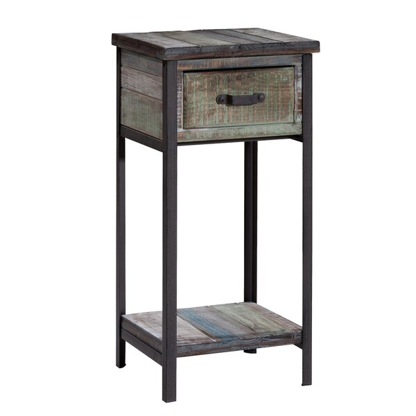 Clayera End Table With Storage  By Trent Austin Design Top Reviews