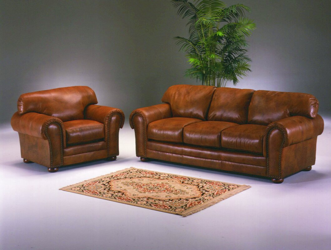 Omnia leather winchester leather configurable living room for Living room sets under 800