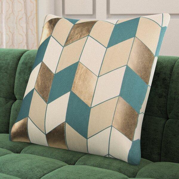 Shipp Cotton Throw Pillow by Mercer41