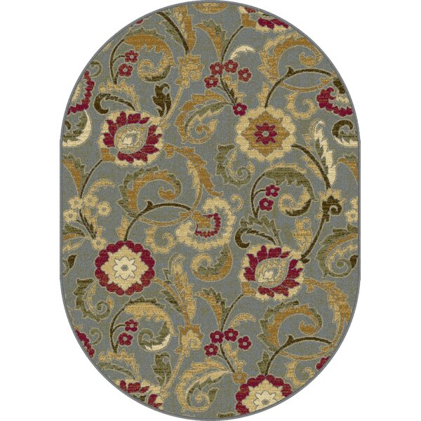 Gulledge Blue Area Rug by Alcott Hill