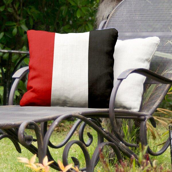 Texas Rider Indoor/Outdoor Throw Pillow