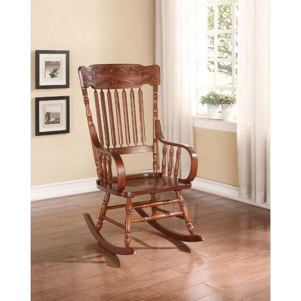 Haeden Rocking Chair By August Grove