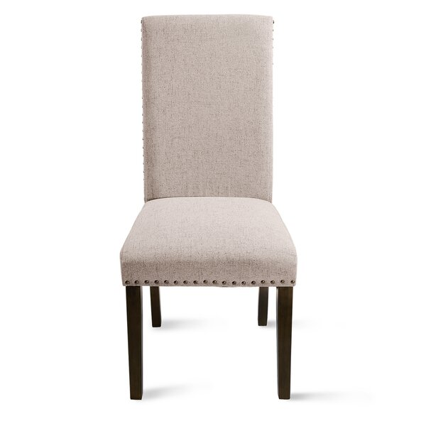 Cord Linen Upholstered Parsons Chair (Set Of 2) By Red Barrel Studio