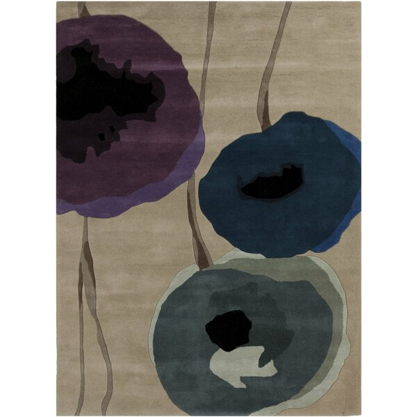 Olive Brown Area Rug by Sanderson