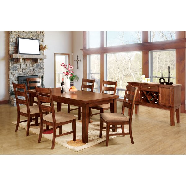 Bagnall 7 Piece Solid Wood Dining Set by Winston Porter Winston Porter