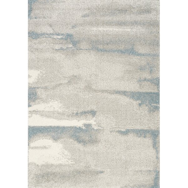 Ellie Cirrus Gray/Blue Area Rug by 17 Stories
