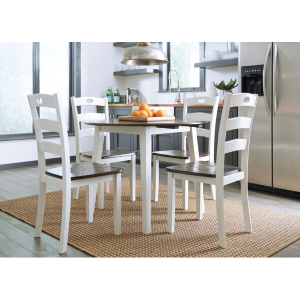 Mccormick 5 Piece Drop Leaf Dining Set by August Grove August Grove