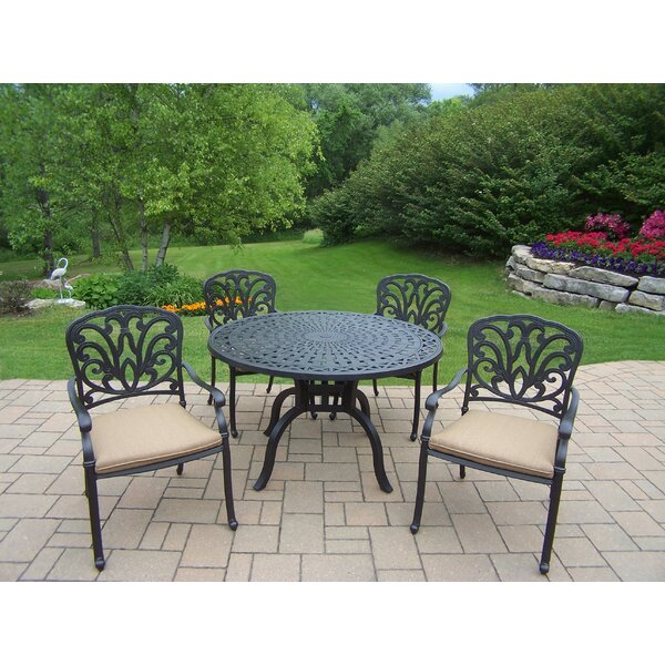 Bosch 5 Piece Dining Set With Cushions By Darby Home Co